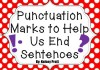 Punctuation Marks...